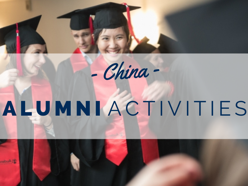 Audencia's ambassadors prepare to mobilise the alumni network in China